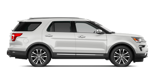New Ford Explorer at Al Packer's White Marsh Ford near Baltimore, MD