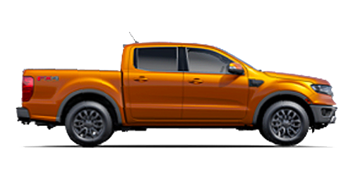 New Ford Ranger at Al Packer's White Marsh Ford near Baltimore, MD