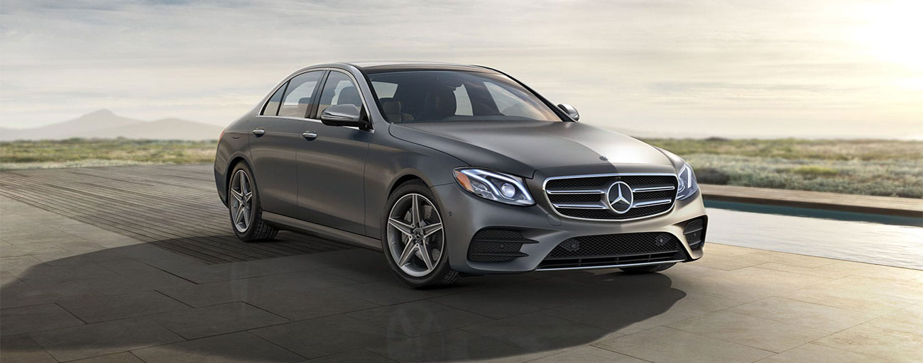 2019 E 450 4MATIC® Sedan front view