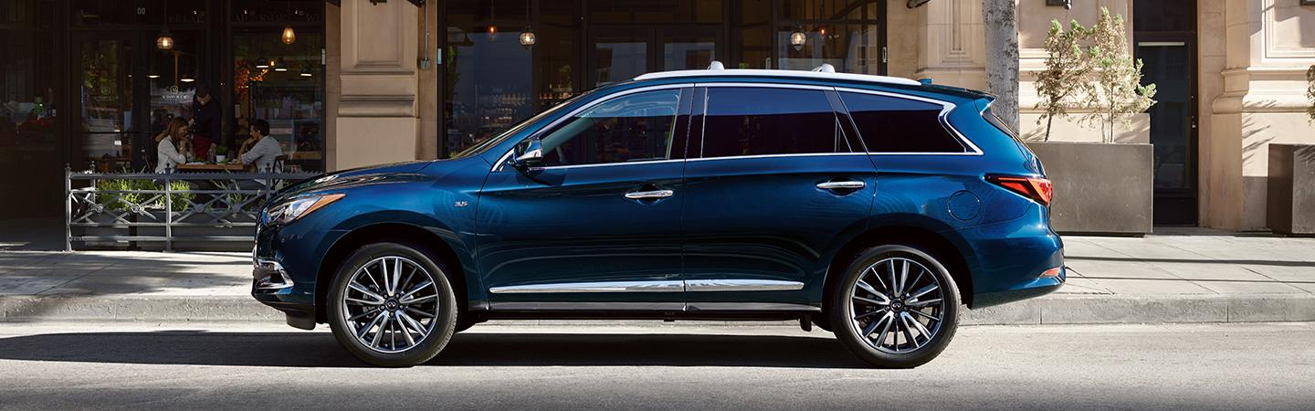 Side profile view of the INFINITI QX60