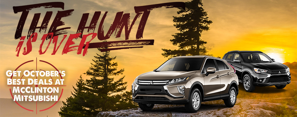 Special Offers in October | MCCLINTON MITSUBISHI