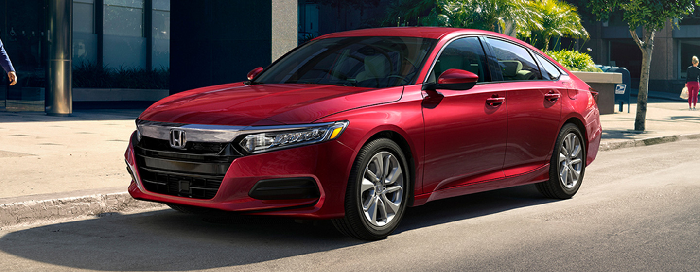 2019 Honda Accord Exterior - Side View parked on the Road.