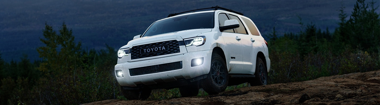 2020 Toyota Sequoia TRD Pro off-roading