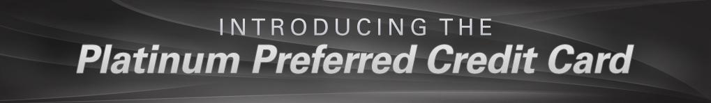 Platinum Preferred Credit Card Toyota Of Tampa Bay