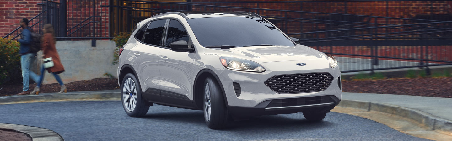 2020 Ford Escape parked near the side of the road