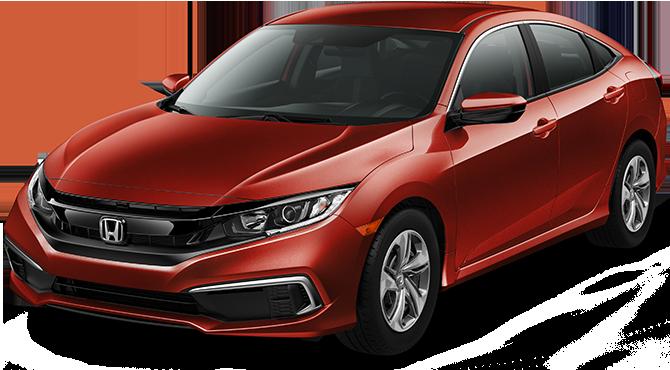NEW 2019 Honda Civic Sedan LX Automatic