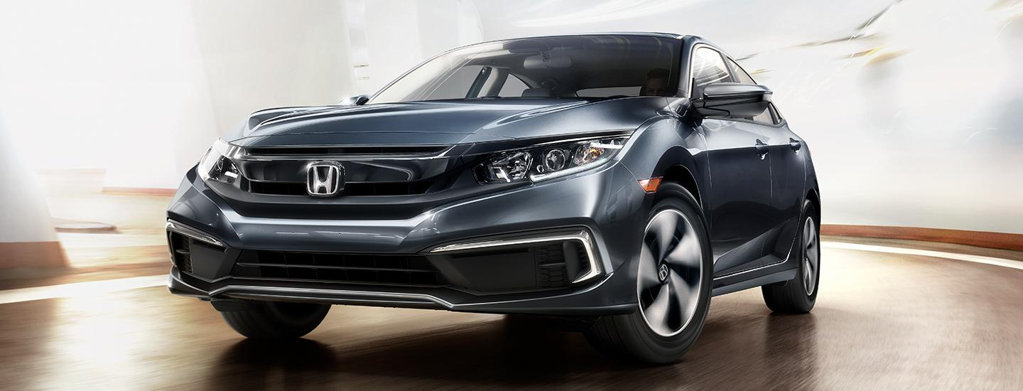 Front profile view of the Honda Civic