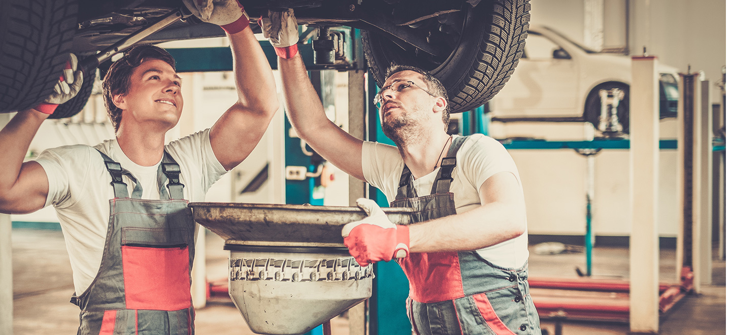 Auto repair and oil change service are offered at South BMW in Miami, FL.