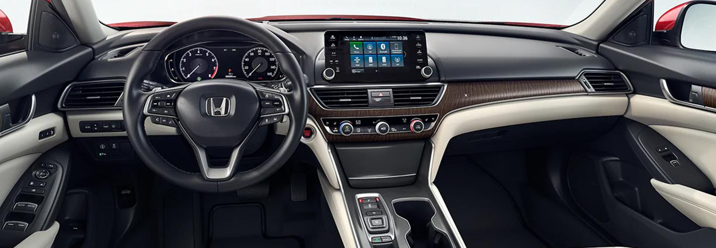 Interior of the 2020 Honda Accord available at Honda of Gainesville
