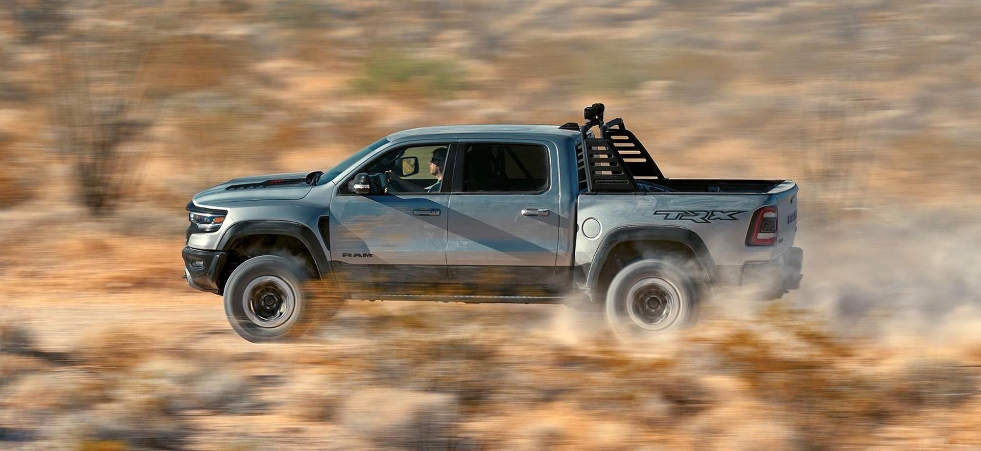 driving ram truck