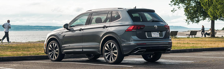 Gray 2020 Volkswagen Tiguan Parked - Rear