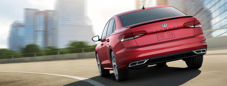 Red 2020 Volkswagen Passat