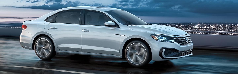 Silver 2020 Volkswagen Passat Driving