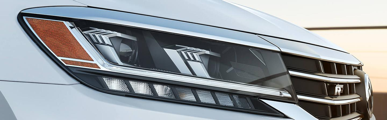 Silver 2020 Volkswagen Passat - Headlight and Grille