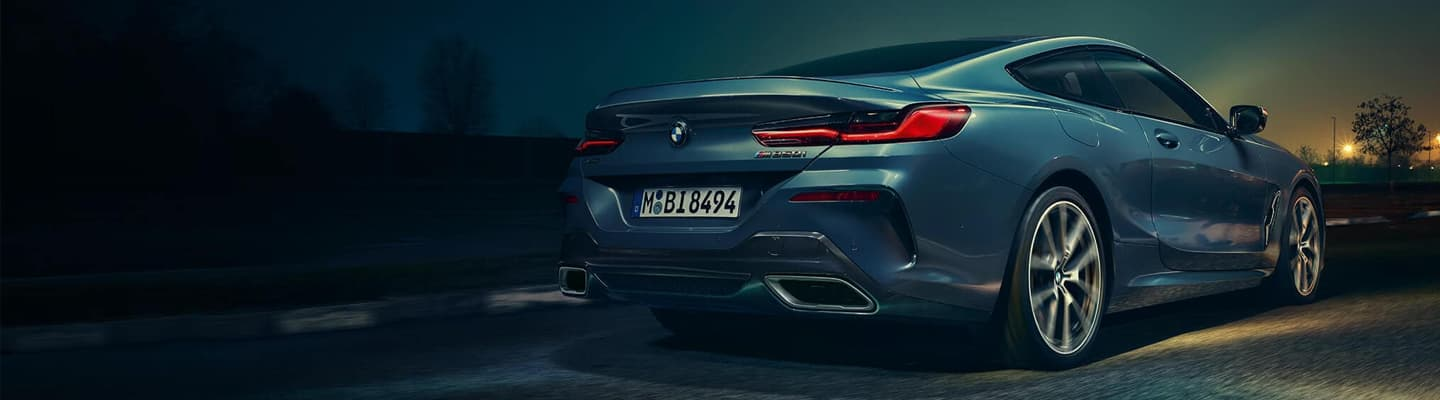2019 BMW 8 Series Coupe – Rear Side View