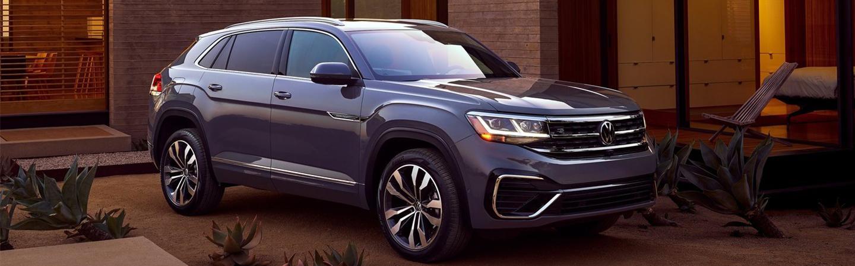 Gray 2020 Volkswagen Atlas Cross Sport Exterior - Front and Side