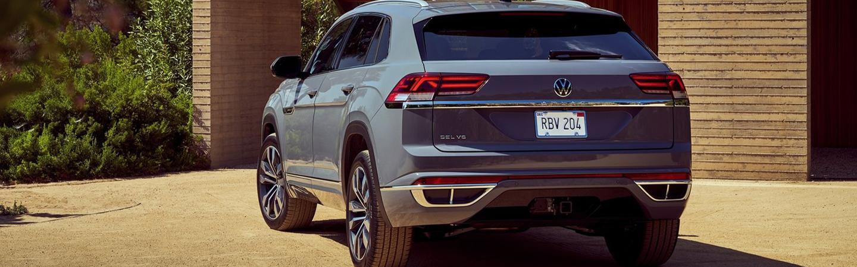 Gray 2020 Volkswagen Atlas Cross Sport Exterior - Rear Hatch