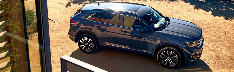 Gray 2020 Volkswagen Atlas Cross Sport Exterior - Roof and Side