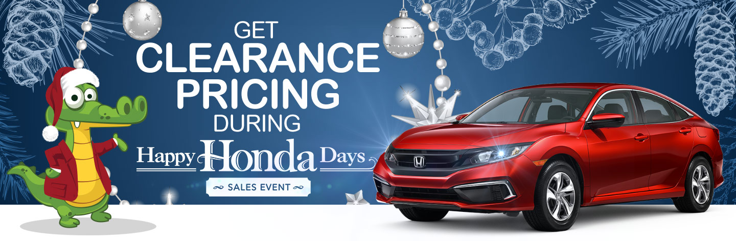 Get Clearance Pricing During Happy Honday Days Sales Event
