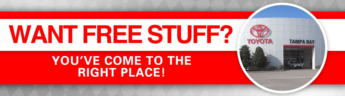 Want Free Stuff? You've come to the right place!