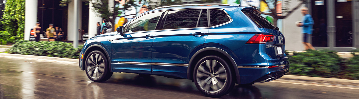 2021 Volkswagen Tiguan in motion