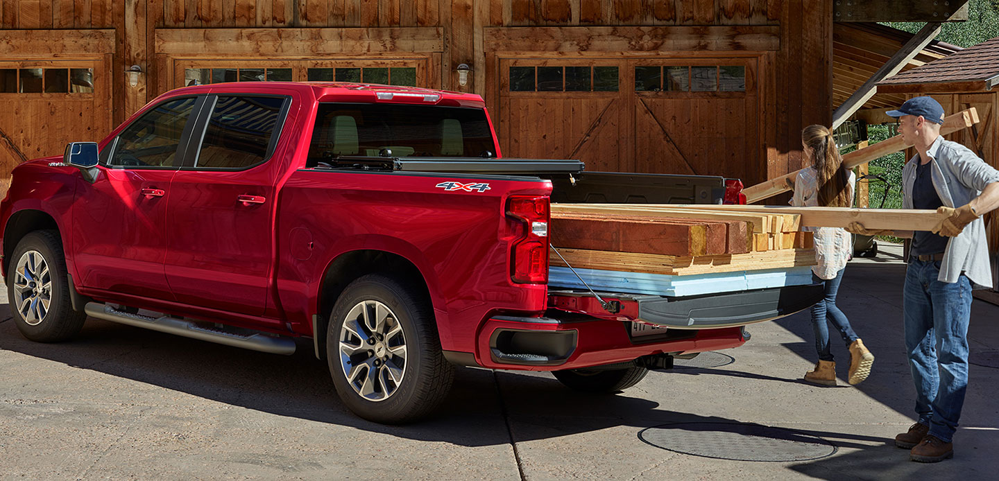 Chevy Silverado 1500 Truck Bed Dimensions | McClinton ...