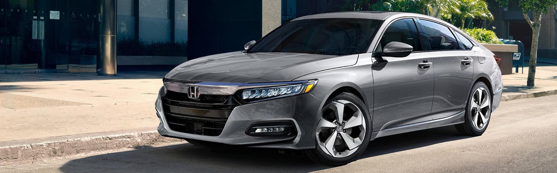 Gray 2020 Honda Accord Parked