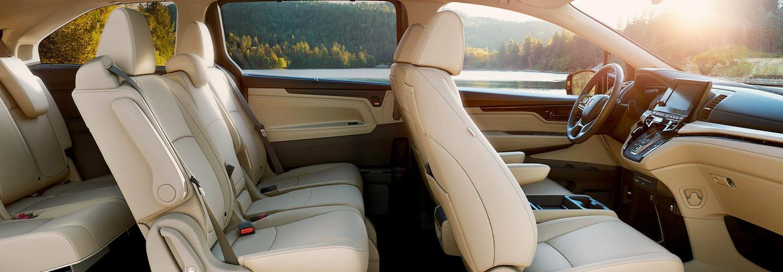 2020 Honda Odyssey Interior - Seats and Dash