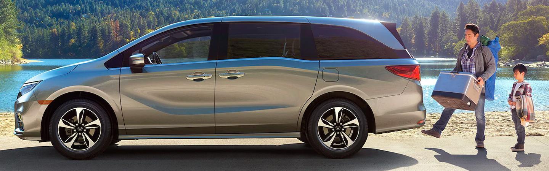 Tan 2020 Honda Odyssey