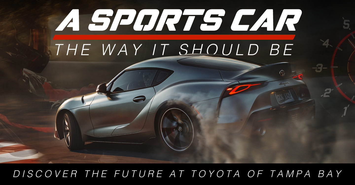A sport car the way it should be | Discover the future at Toyota of Tampa Bay