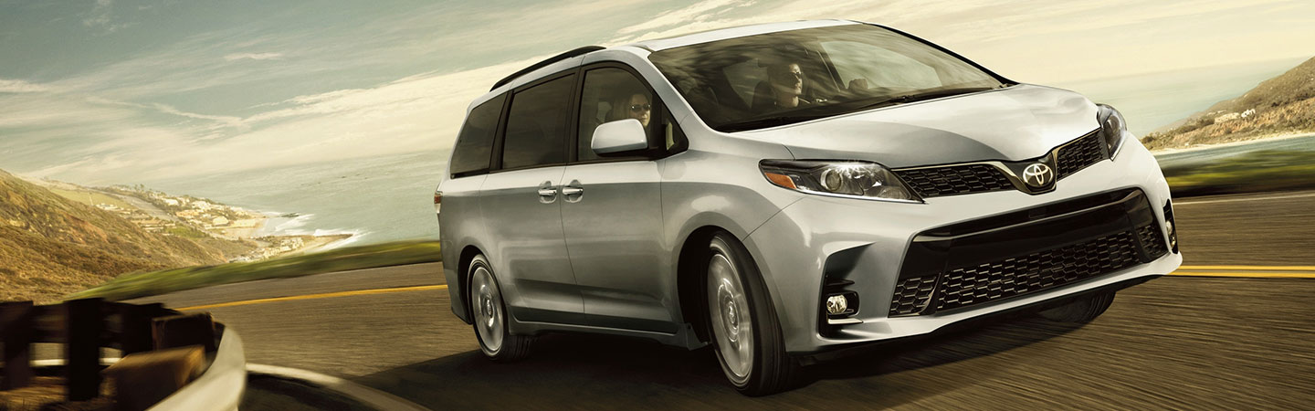 Toyota Sienna in Motion