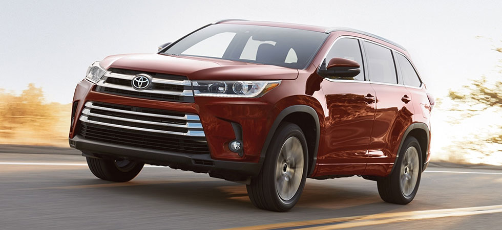 The 2018 Toyota Highlander is available at Toyota of Tampa Bay dealership in Tampa