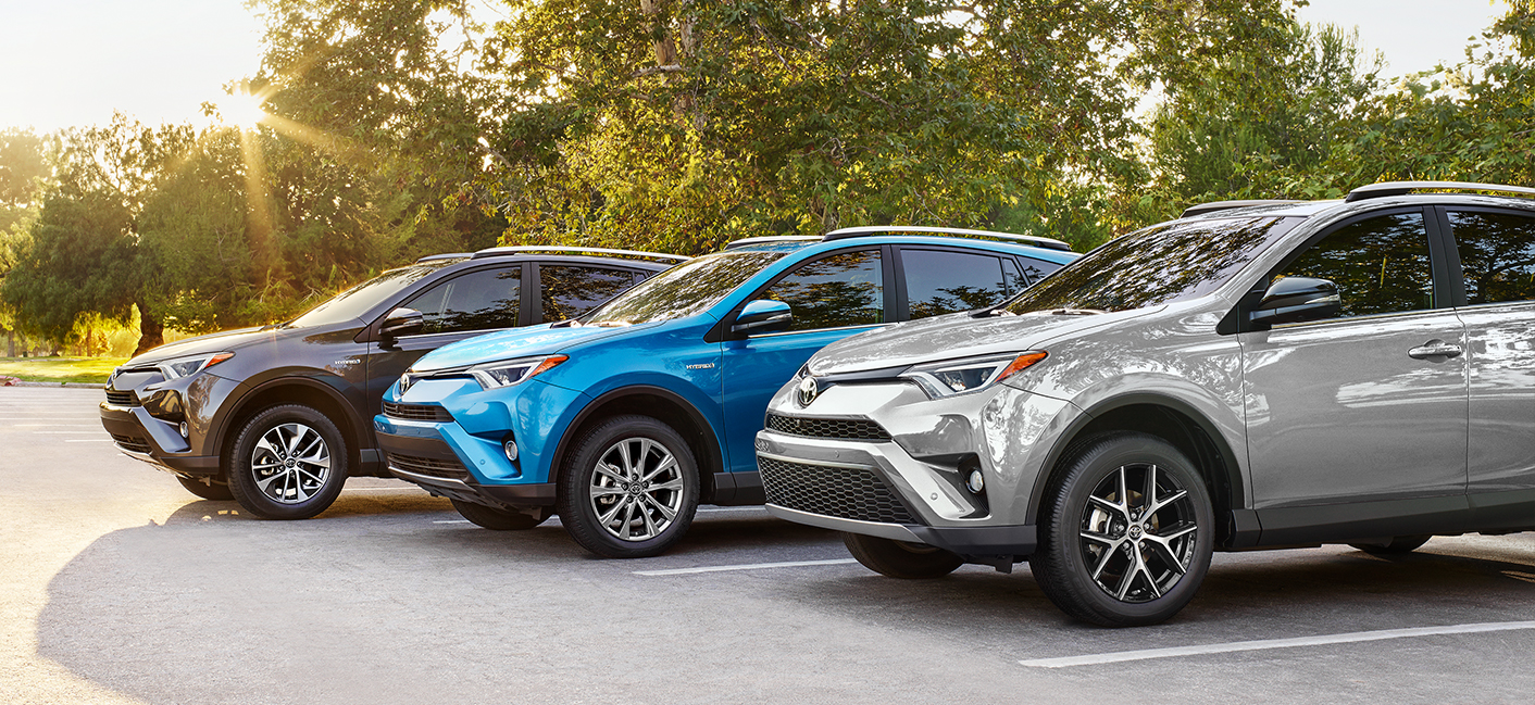 The 2018 Toyota RAV4 is available at our Toyota dealership in Tampa, FL