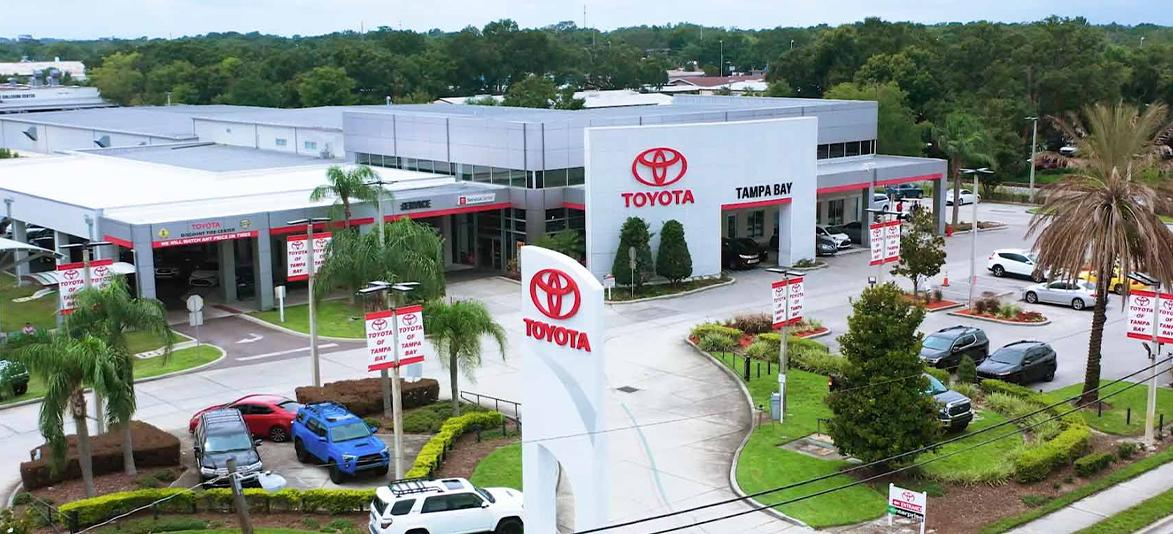 View of Toyota Of Tampa Bay dealership
