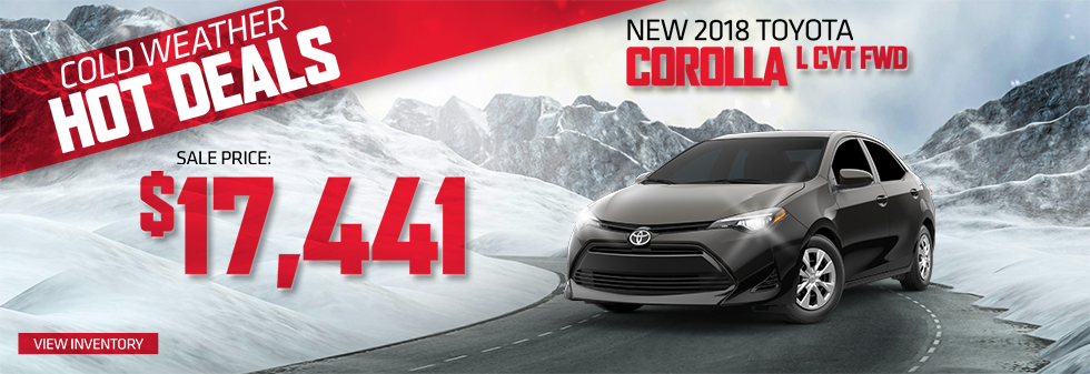 Toyota Finance Deals >> Fremont Toyota Warm Up With These Offers Fremont Motor