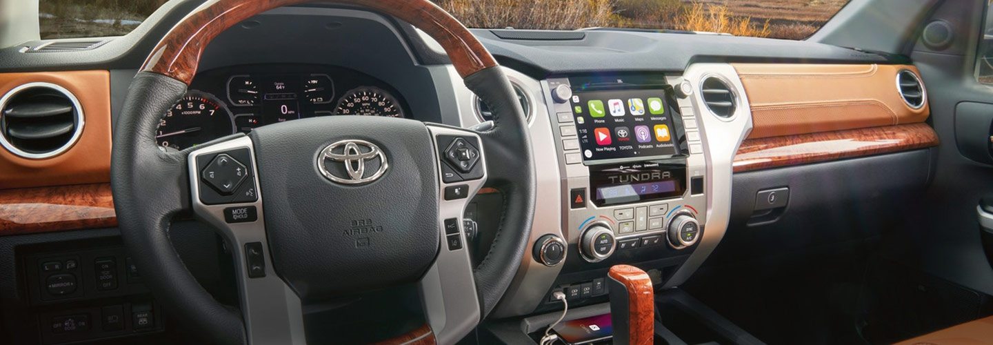 Interior image of the 2020 Toyota Tundra available at Rountree Moore Toyota.
