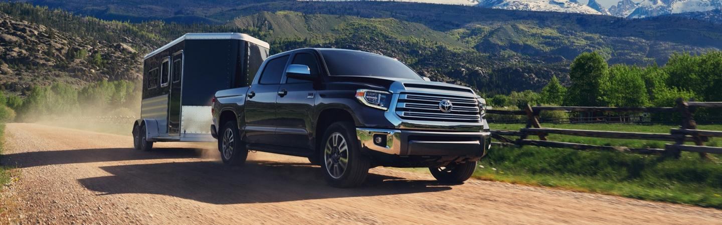 Exterior image of the 2020 Toyota Tundra for sale Lake City Florida