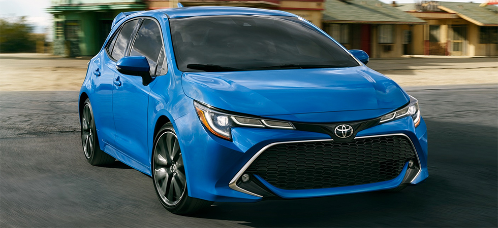 New Toyota Corolla >> New Toyota Corolla Hatchback For Sale Toyota Of Tampa Bay Dealership