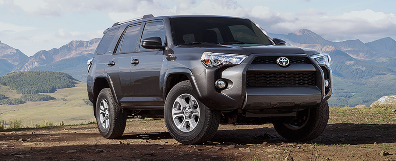 Toyota 4Runner driving