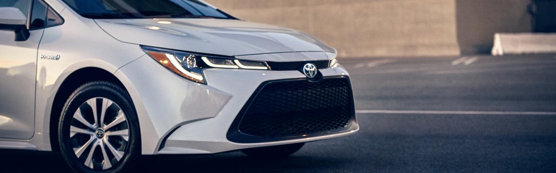 New 2020 Toyota Corolla exterior image