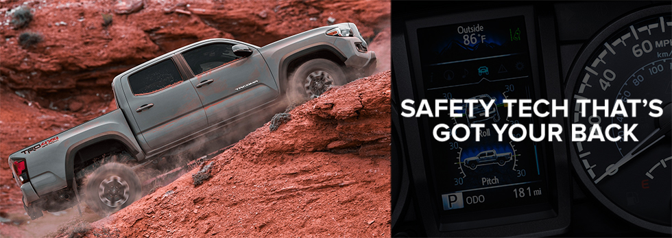 2018 tacoma best highest rated safety features toyota of tampa bay st. petersburg clearwater largo fl
