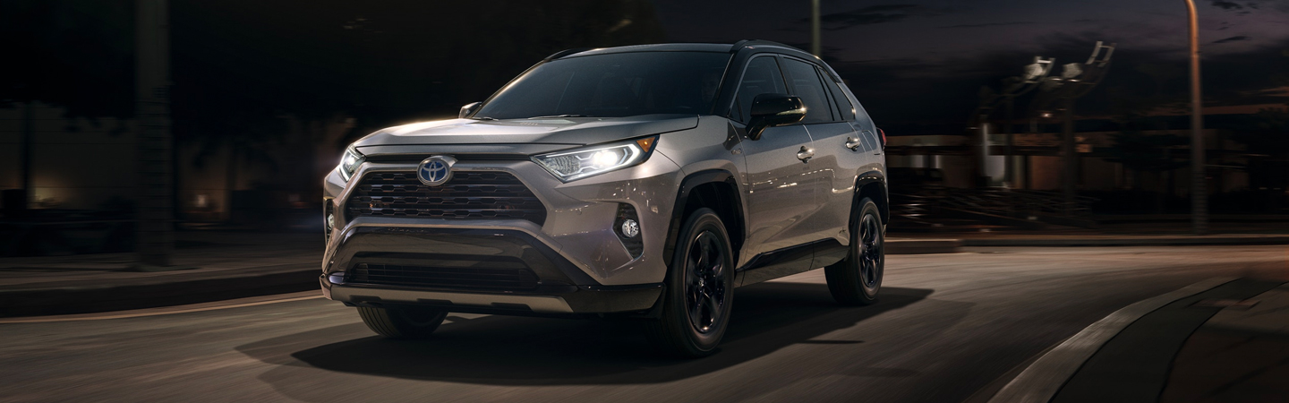 Front view of a 2021 Toyota RAV4