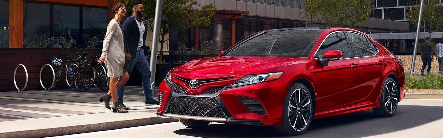 Exterior image of the 2020 Toyota Camry