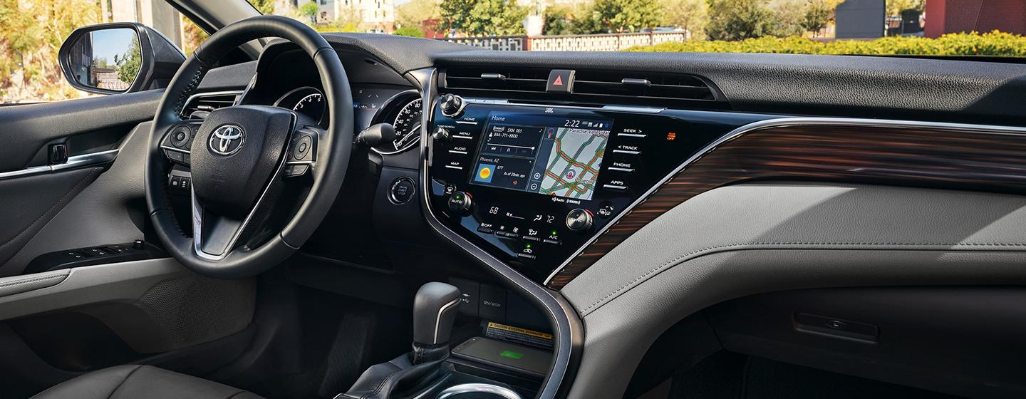Interior image of the 2020 Toyota Camry