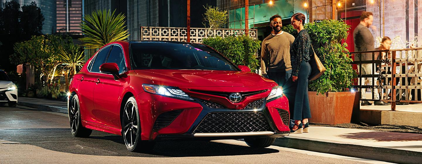 Exterior of the 2020 Toyota Corolla