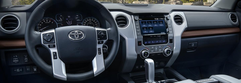 Interior image of 2020 Toyota Tacoma