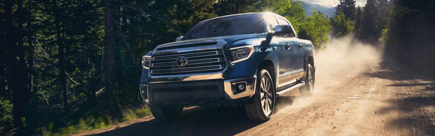 Exterior of the 2020 Toyota Tacoma for sale in Lake City