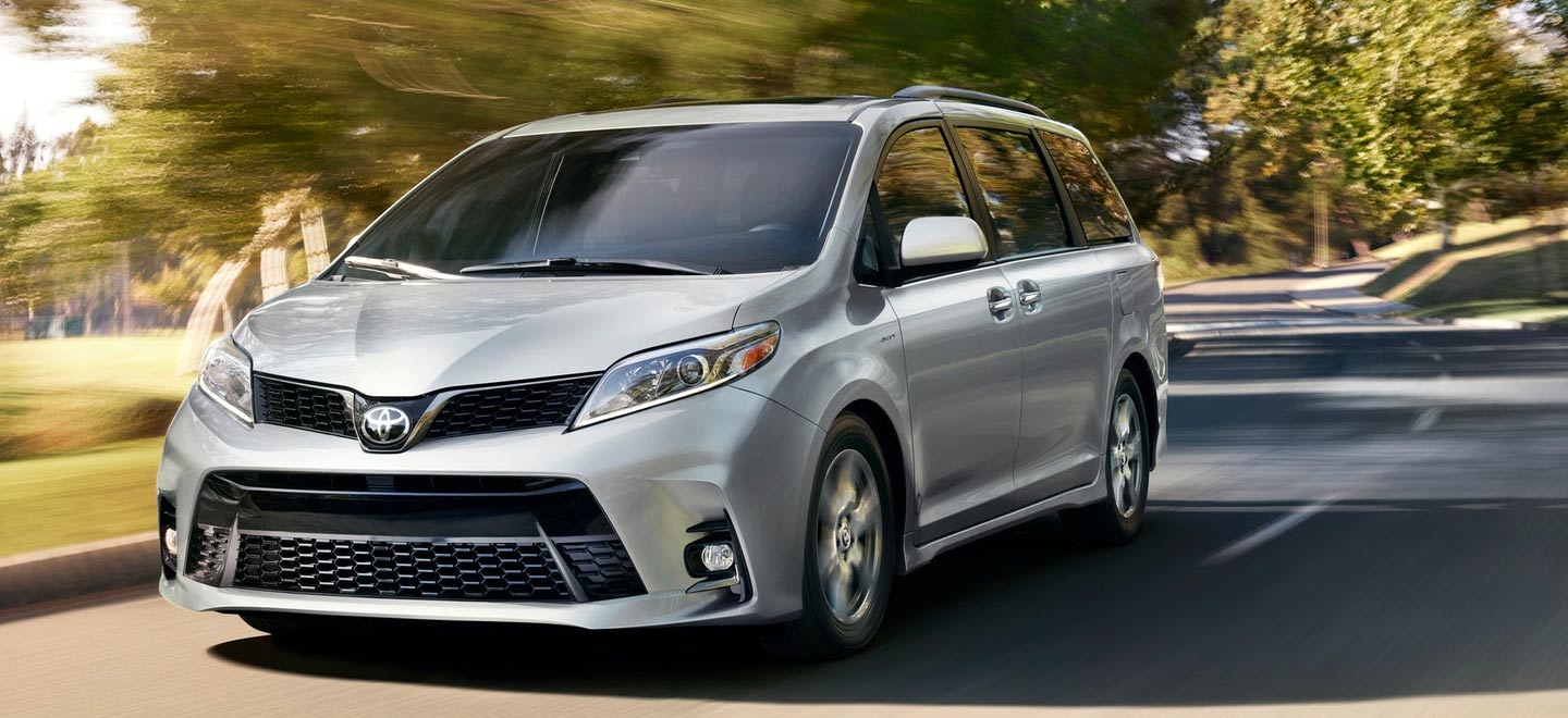 The 2019 Toyota Sienna is for sale at our Toyota dealership in Tampa.