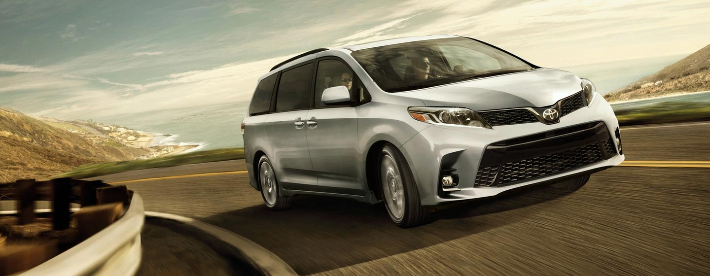 Exterior of the 2019 Toyota Sienna - available at our Toyota dealership in Tampa.