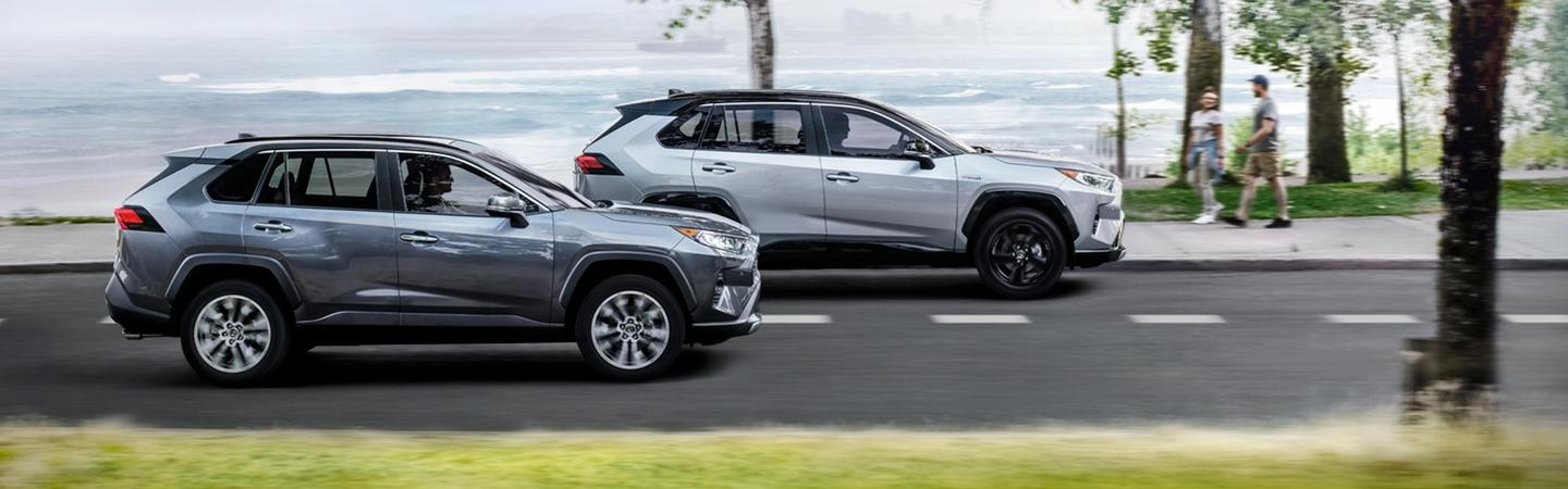 Picture of the new 2020 Toyota RAV4